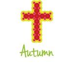 Autumn Bubble Cross