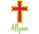 Allyson Bubble Cross