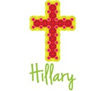 Hillary Bubble Cross