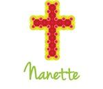 Nanette Bubble Cross