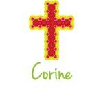 Corine Bubble Cross