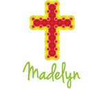 Madelyn Bubble Cross