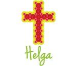Helga Bubble Cross