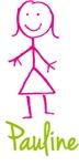 Pauline The Stick Girl