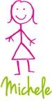 Michele The Stick Girl