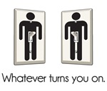Whatever Turns You On Gay Male Light Switch