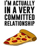 Pepperoni Pizza Love - A Serious Relationship