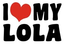 I Love My Lola t-shirt