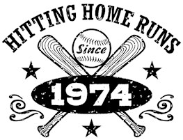 Baseball Birthday 1974 t-shirts