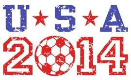 USA Soccer 2014 t-shi