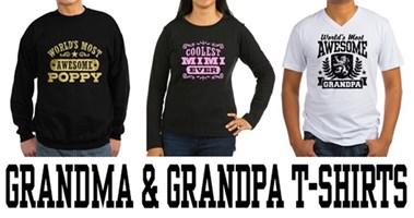 Grandma & Grandpa t-shirts