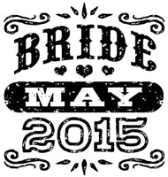 Bride May 2015 t-shirt