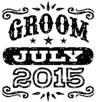 Groom July 2015 t-shirt