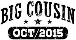 Big Cousin October 2015 t-shirt