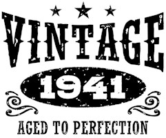 Vintage 1941 t-shirts