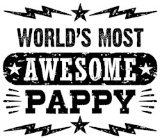 World's Most Awesome Pappy t-shirt