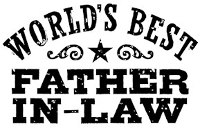 World's Best Father In Law t-shirt