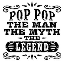 Pop Pop The Man The Myth The Legend t-shirt