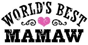 World's Best MaMaw t-shirts