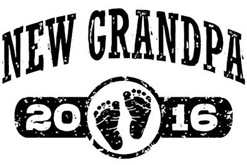 New Grandpa 2016 t-shirt