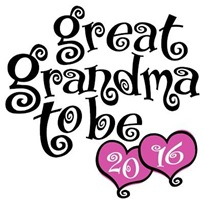 Great Grandma To Be 2016 t-shirt