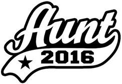 Aunt 2016 t-shirt