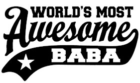 World's Most Awesome Baba t-shirts