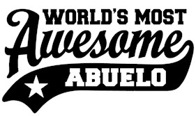World's Most awesome Abuelo t-shirt