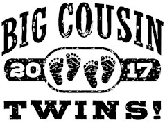 Big Cousin Twins 2017 t-shirt