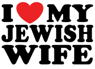 I Love My Jewish Wife t-shirts