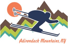 Ski Adirondack Mountains t-shirts