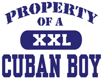 Property of a Cuban Boy t-shirt