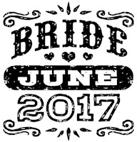 Bride June 2017 t-shirt