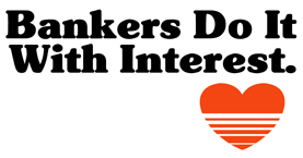 Bankers do it with Interest t-shirt