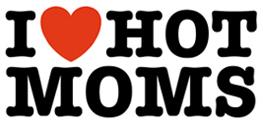 I Love Hot Moms t-shirts