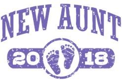 New Aunt 2018 t-shirt