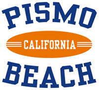 Pismo Beach California t-shirts