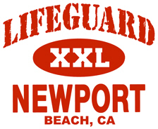 Lifeguard Newport Beach t-shirt
