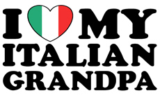 I Love My italian Grandpa t-shirt