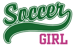 Soccer Girl t-shirts