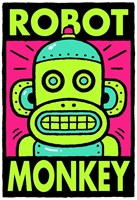 Robot Monkey T-shirt and More.