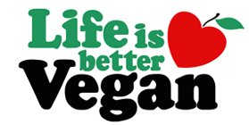 Life is Better Vegan t-shirts