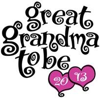 Great Grandma To Be 2013 t-shirt
