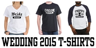 Wedding 2015 t-shirts