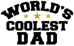 World's Coolest Dad t-shirt