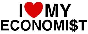 I Love My Economist t-shirts
