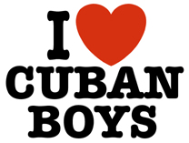 I Love Cuban Boys t-shirt