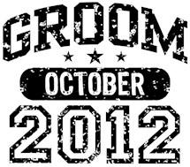 Groom October 2012 t-shirts