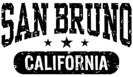 San Bruno California t-shirts