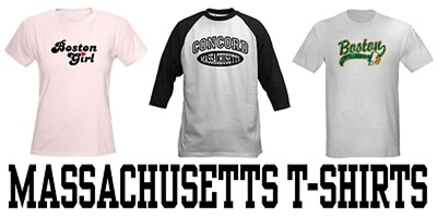 Massachusetts t-shirts